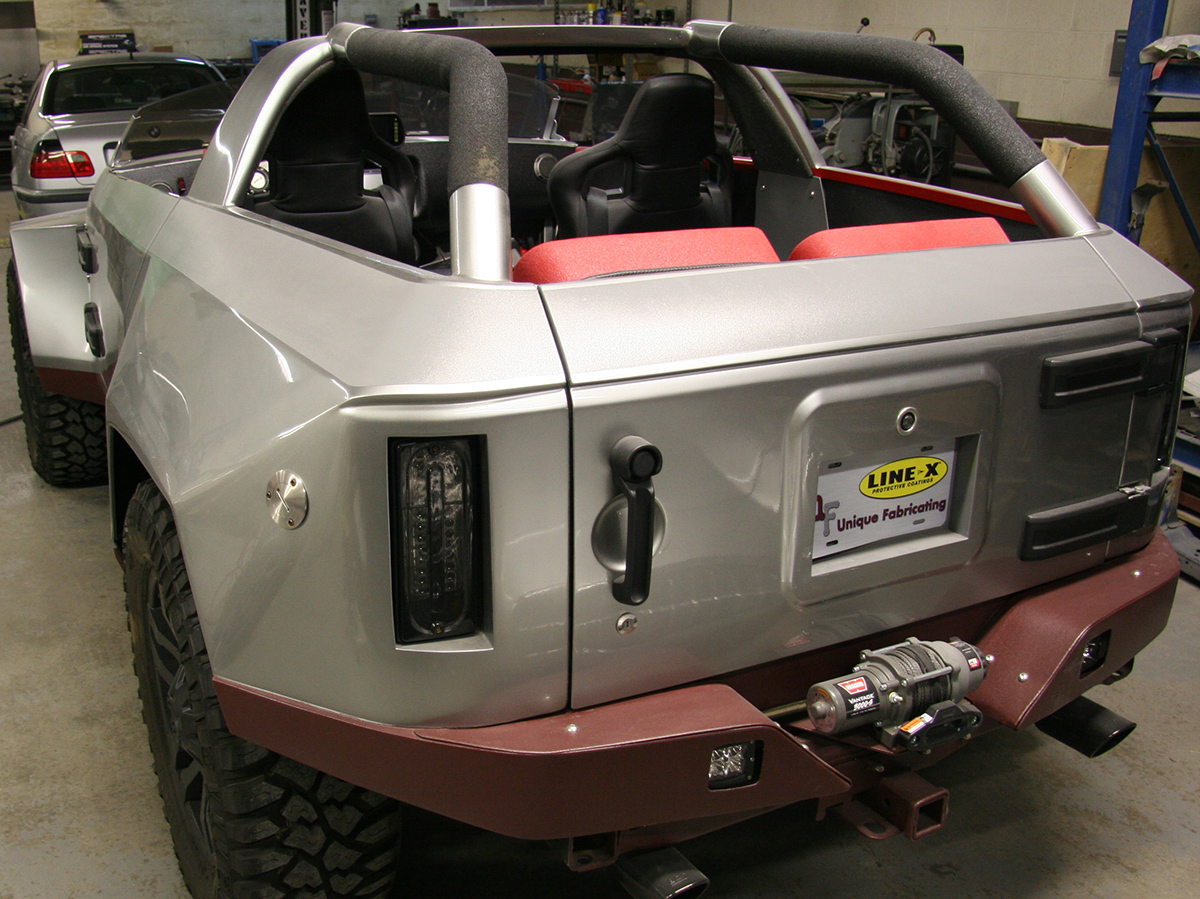 Steve Pasteiner Creates a FrankenVehicle