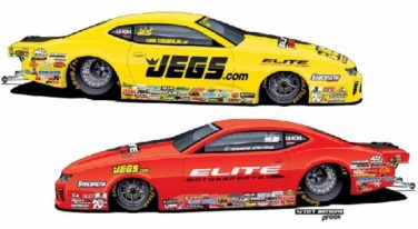 Erica Enders and Jeg Coughlin, Jr. Return to Chevrolet