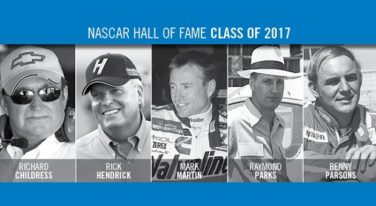 NASCAR Hall of Fame Class of 2017 Inducted