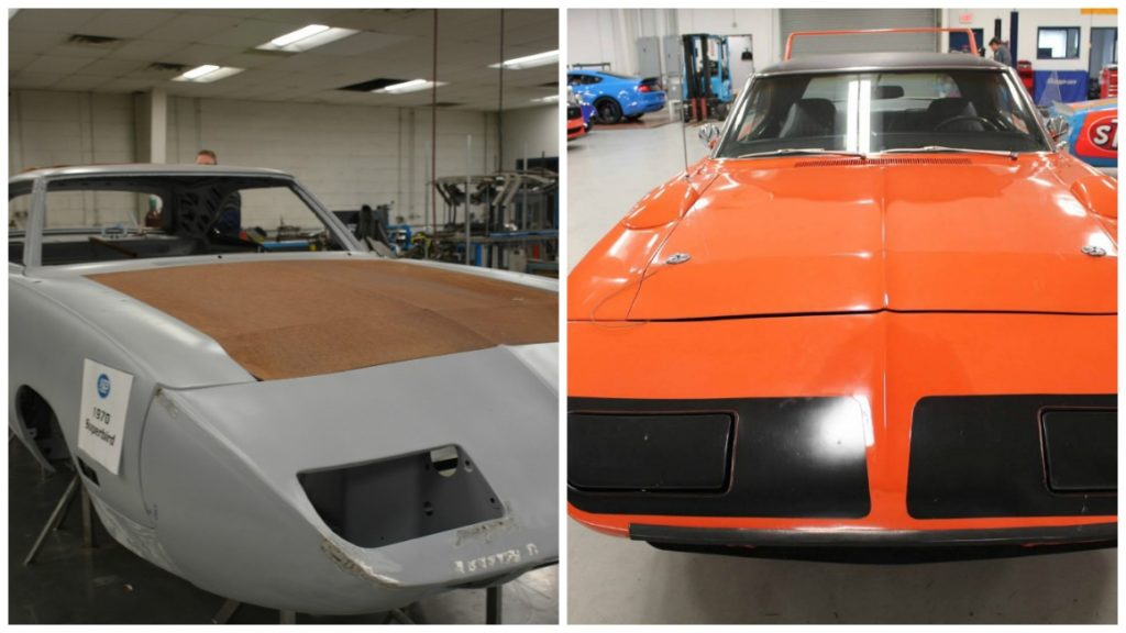 Petty's Garage is even restoring the classic cars that Richard Petty made famous during his early days of racing.