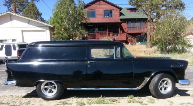 Today's Cool Car Find is this 1955 Chevrolet Sedan Delivery