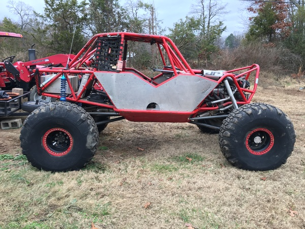 Rock Crawler Chassis : Today s cool car find is this tube chassis rock crawler