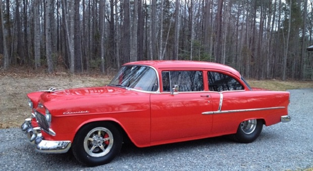 Today's Cool Car Find is this 1955 Chevrolet 210