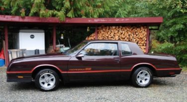 Today's Cool Car Find is this 1986 Chevrolet Monte Carlo