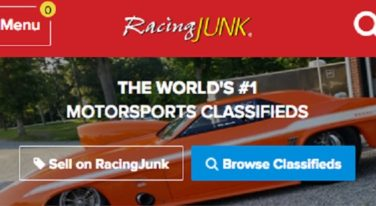 RacingJunk.com Launches New Mobile Homepage
