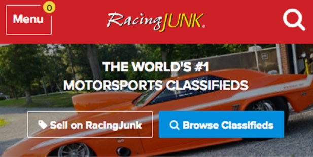 Racingjunk Com Launches New Mobile Homepage Racingjunk News