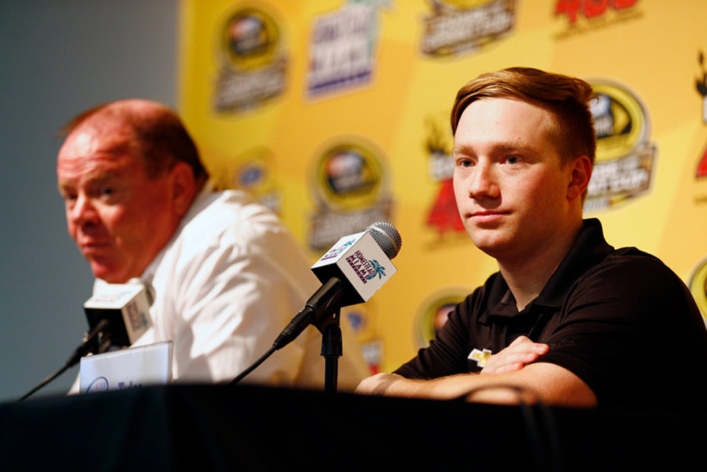 Tyler Reddick Looks to the Future of NASCAR