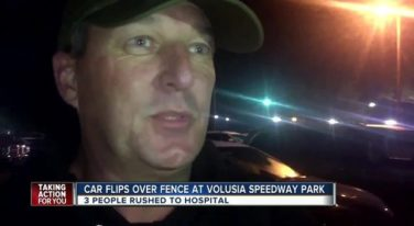 Sprint Car Crash Leaves Three Injured at Volusia Speedway Park
