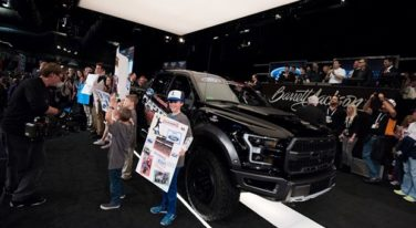 Ford F-150 Auctioned Off for Charity
