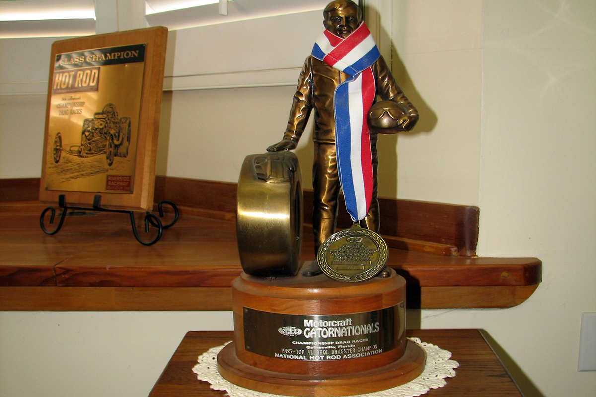 NHRA Honors Don Irvin