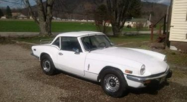 Today's Cool Car Find is this 1973 Triumph Spitfire