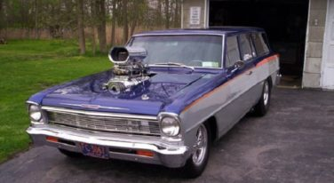 Today's Cool Car Find is this '66 Chevy II Wagon