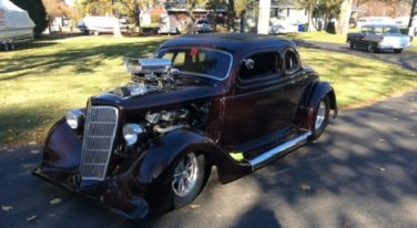 Today's Cool Car Find is this 1935 Ford Street Rod