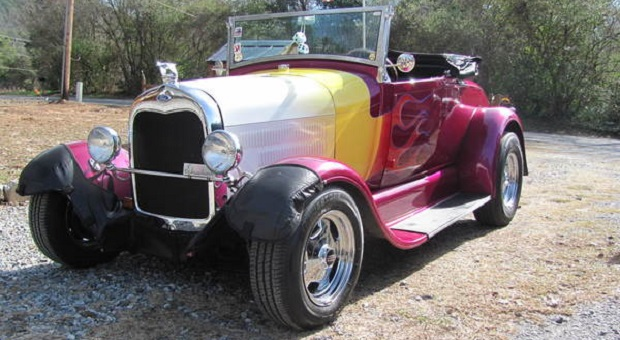 Today's Cool Car Find is this Steel Body Roadster