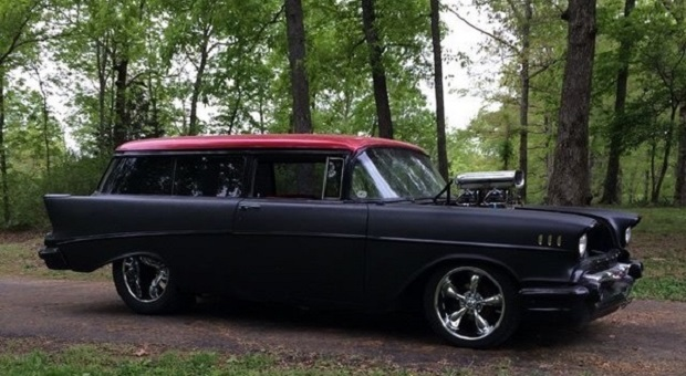 Today's Cool Car Find is this 1957 Chevy Bel Air Wagon