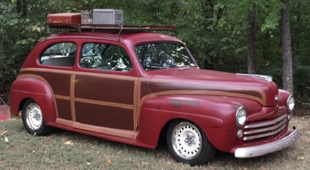 Today's Cool Car Find is this 1946 Ford Sedan