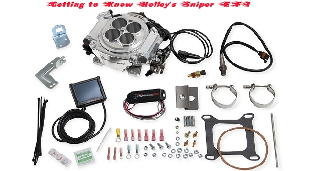 Installing the Holley SNIPER EFI Kit