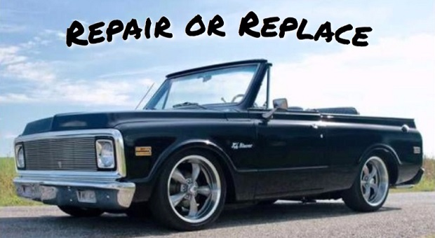 Repair or Replace: Chevy K5 Blazer