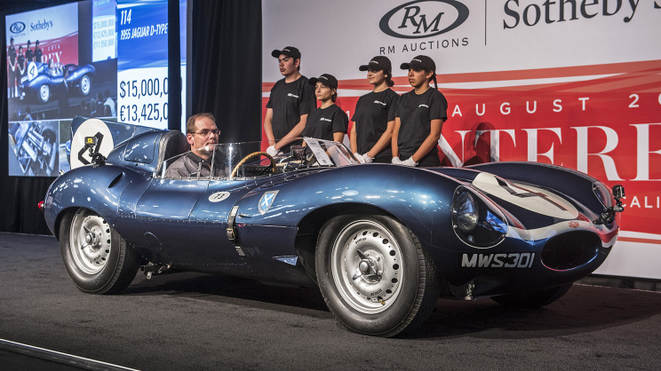 Five Most Expensive Cars Sold at Auction in 2016