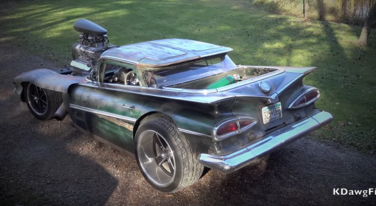 """[Video] This 1959 800 HP """"Hulk Camino"""" is Out of a Nightmare"""