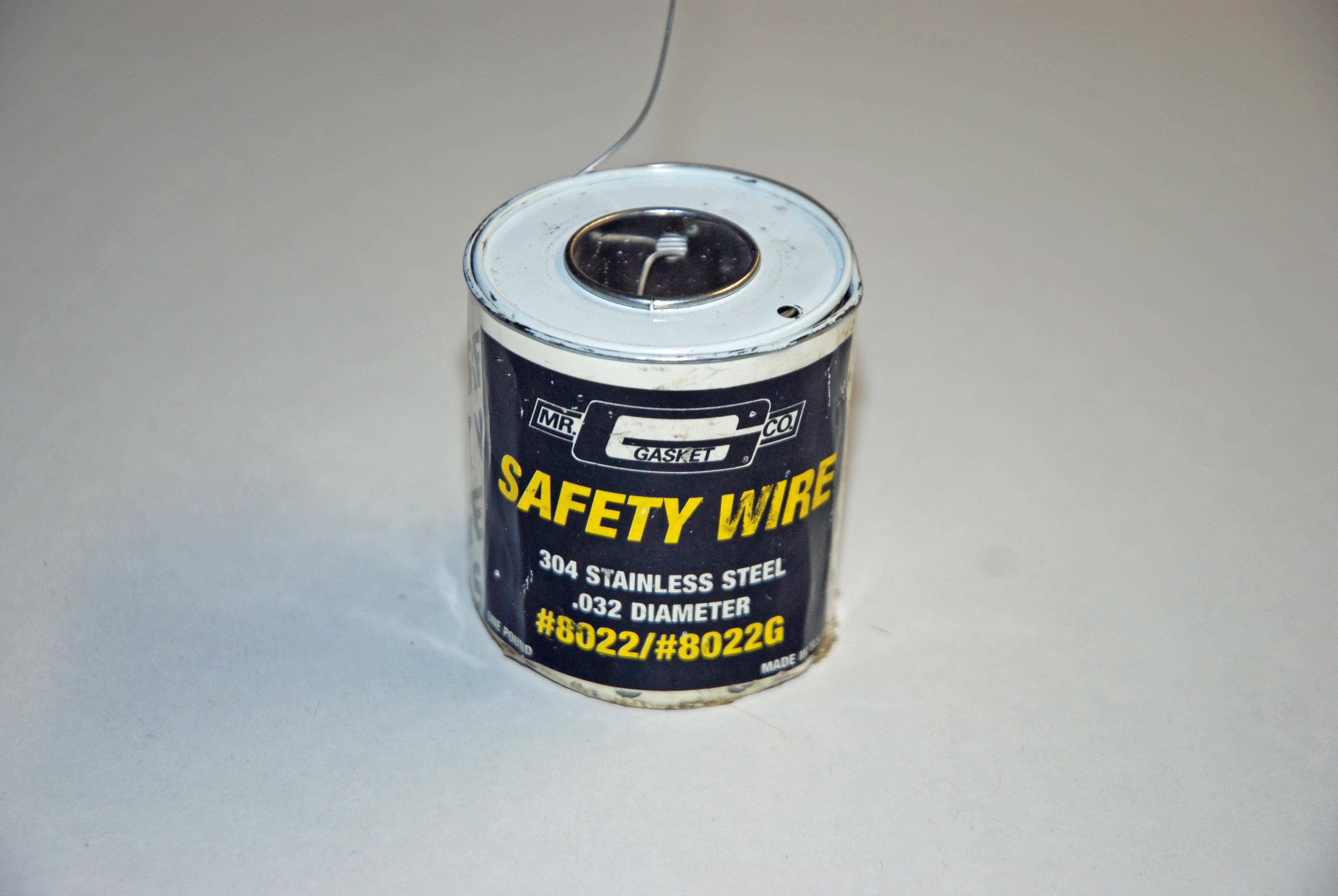 Safety First: Safety Wire