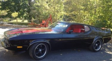 Today's Cool Car Find is this 1973 Ford Mustang