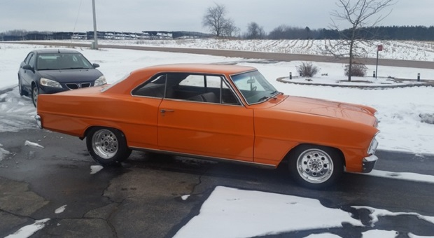 Today's Cool Car Find is this 1966 Chevy II