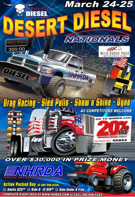 2017 NHRDA Desert Diesel Nationals Results
