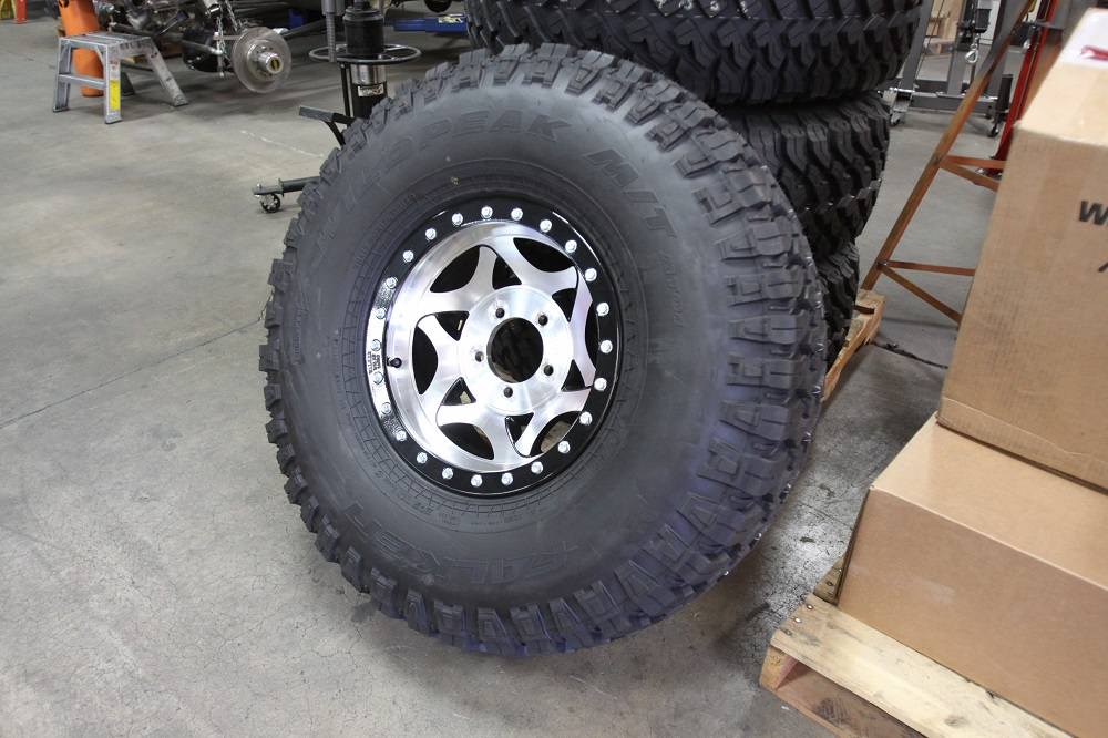 The Off-Road Universe: Tires and Wheels