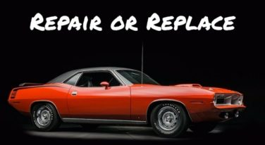 Repair or Replace: Plymouth Hemi 'Cuda