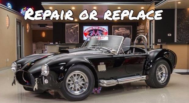Repair or Replace: '62 Shelby Cobra