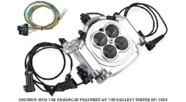 Advanced Features of the Holley Sniper EFI Unit