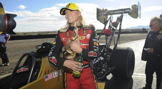 Behind the Wheel: Leah Pritchett