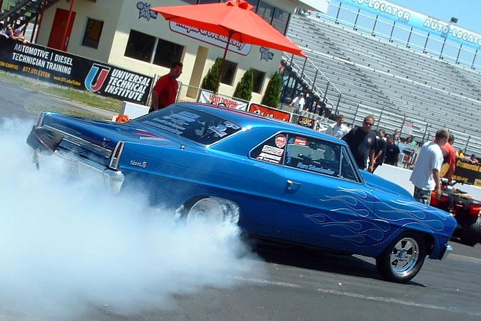 The Rise of Radial Drag Racing