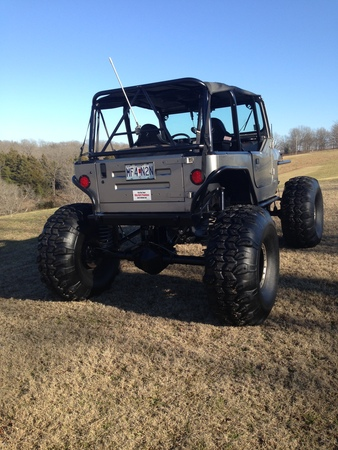 Today S Cool Car Find Is This 1990 Yj Jeep Rock Crawler