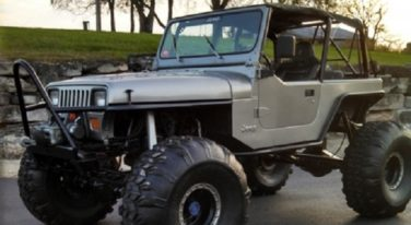 Today's Cool Car Find is this 1990 YJ Jeep Rock Crawler