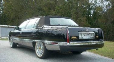 Today's Cool Car Find is this 1996 Cadillac DeVille