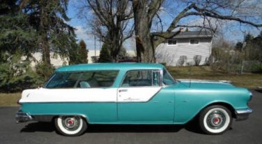 Today's Cool Car Find is this 1955 Pontiac Safari