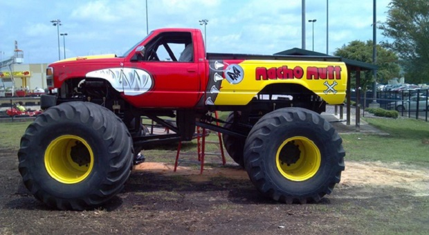 Today's Cool Car Find is this Monster Ride Truck