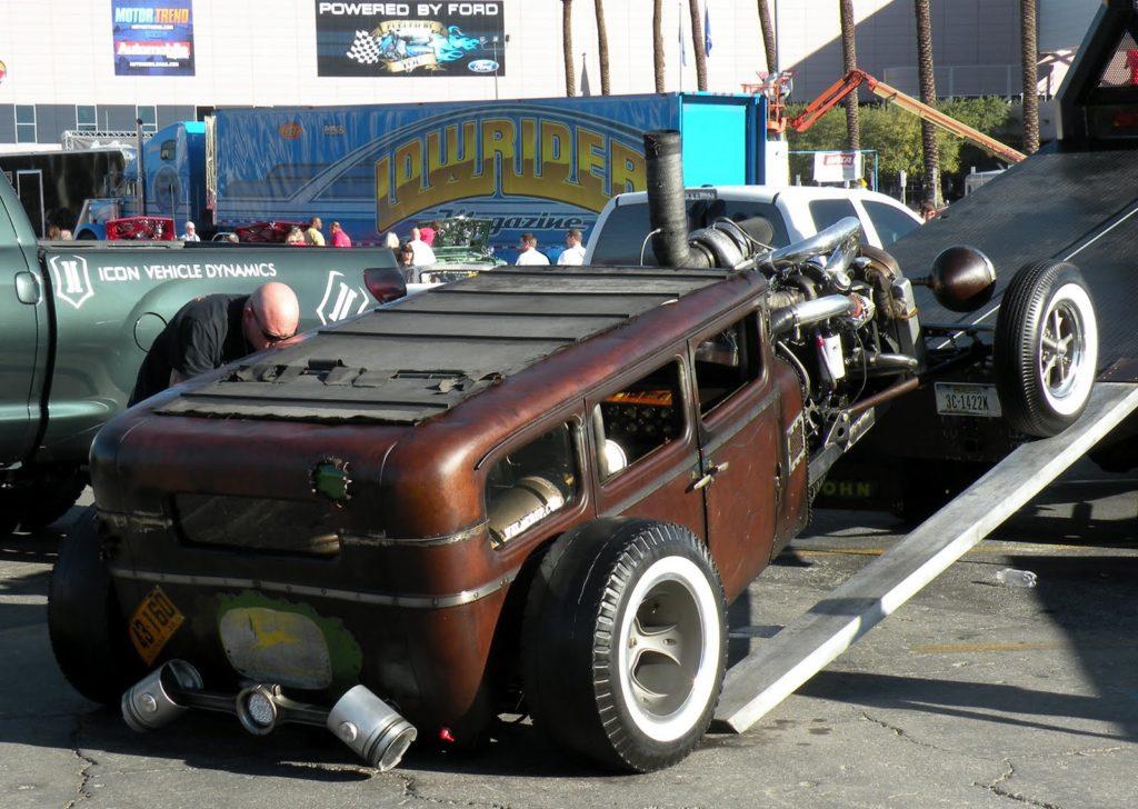 Rollin' Coal with a '28 Dodge Rat Rod