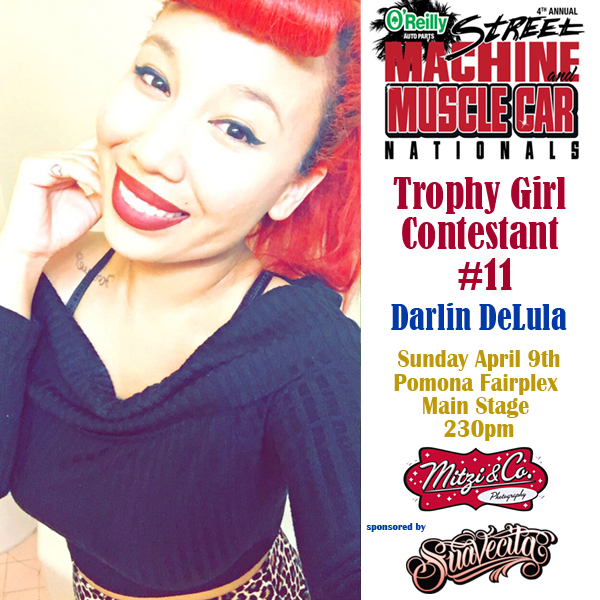 Pinups: Street Machine and Muscle Car Nationals Trophy Girl Contestants (Part II)
