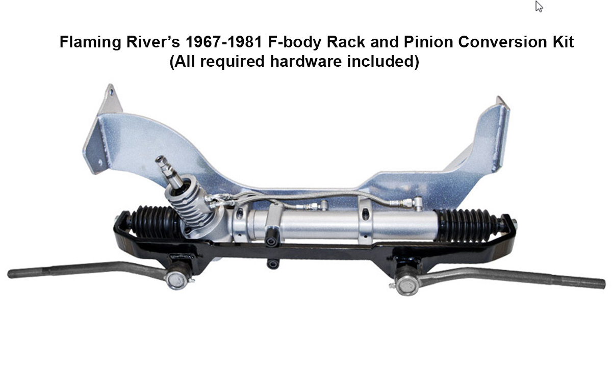 Installing a Rack and Pinion Conversion Kit in Your Early F-Body