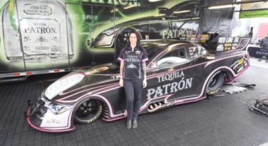 Racer Alexis DeJoria Withdraws from Charlotte Race