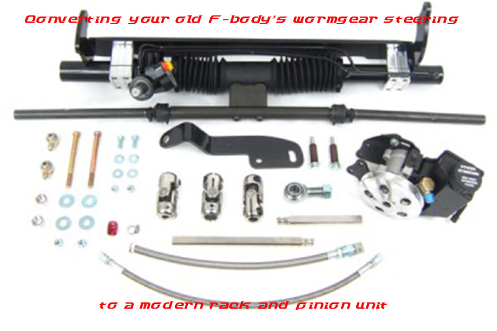 Installing A Rack And Pinion Conversion Kit In Your Early F