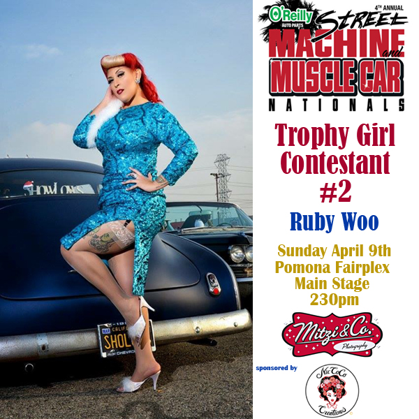 Pinups: Street Machine and Muscle Car Nationals Trophy Girl Contestants