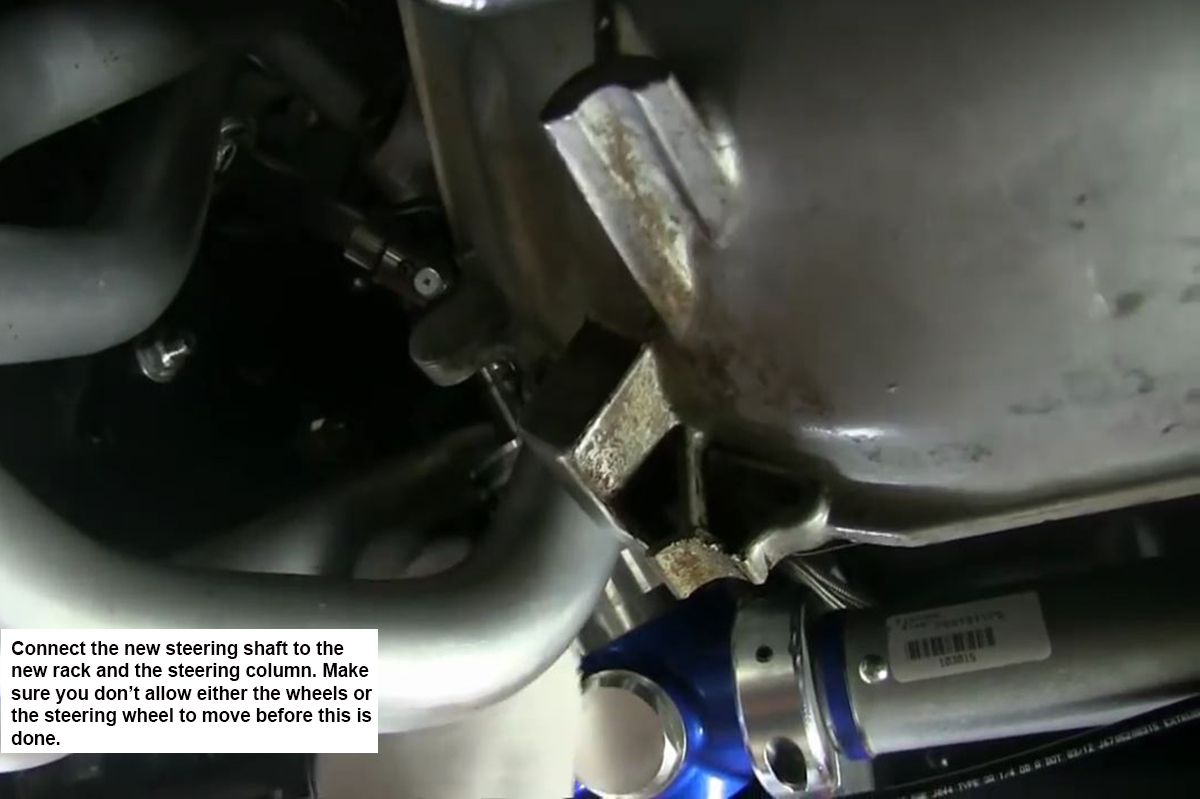 67-81 F-Body Rack and Pinion Conversion Part II