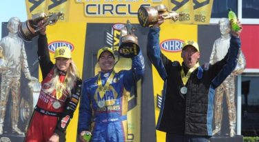 Pritchett and Capps Dominate at 2017 NHRA Spring Nationals
