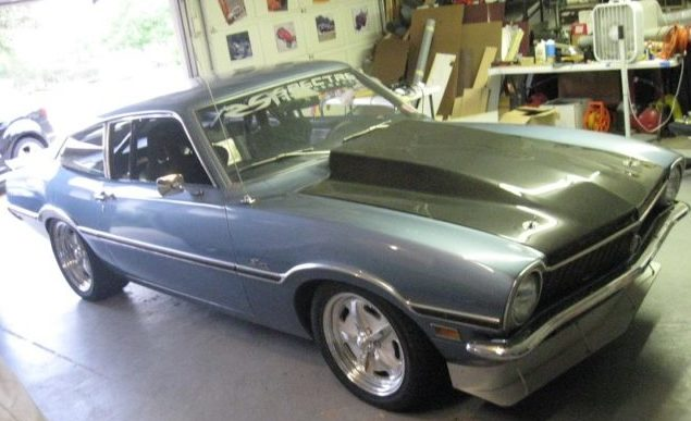 Ford maverick, Turbocharged Maverick, Tommy Parry, Desert Racer