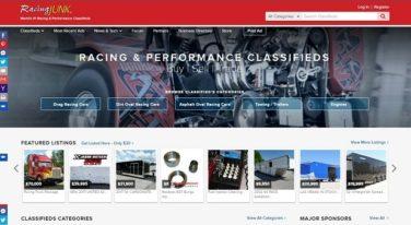 RacingJunk.com Has a New Desktop Homepage