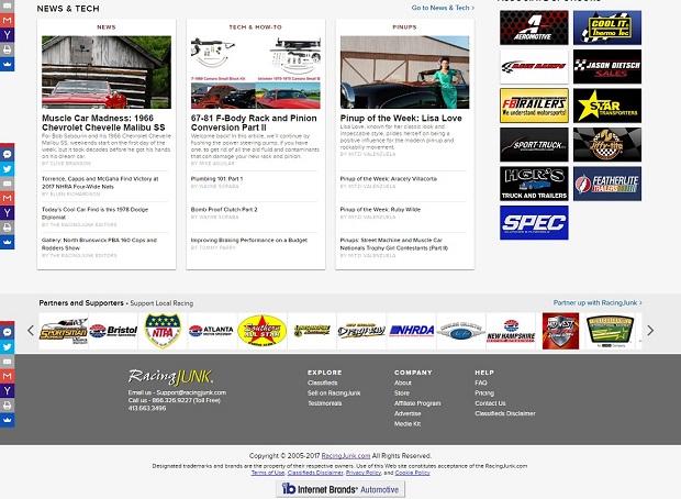 Desktop Homepage News and Tech